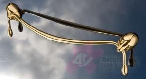 Полотенцедержатель Etruska Retro 8558/55 одинарный 43,5 см золото