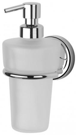 Дозатор FBS Ellea ELL 009 для жидкого мыла подвесной хром / хрусталь матовый