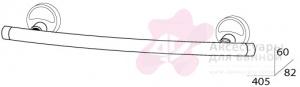 Полотенцедержатель FBS Ellea ELL 030 одинарный длина 40 см цвет хром