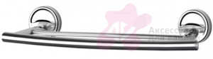 Полотенцедержатель FBS Ellea ELL 034 двойной длина 30 см цвет хром