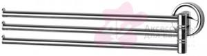 Полотенцедержатель FBS Ellea ELL 045 тройной поворотный длина 37,1 см цвет хром