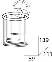 Держатель FBS Ellea ELL 051 для освежителя воздуха хром