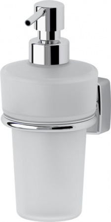 Дозатор FBS Esperado ESP 009 для жидкого мыла подвесной хром / стекло матовое
