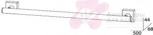 Полотенцедержатель FBS Esperado ESP 031 одинарный длина 50 см цвет хром