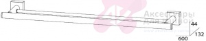 Полотенцедержатель FBS Esperado ESP 037 двойной длина 60 см цвет хром