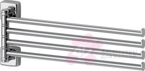 Полотенцедержатель FBS Esperado ESP 046 четверной поворотный длина 35 см цвет хром