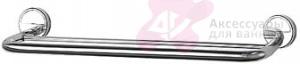 Полотенцедержатель FBS Luxia LUX 036 двойной длина 50 см цвет хром