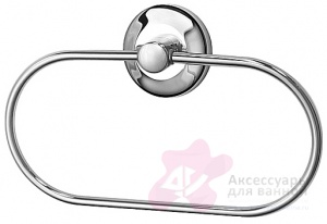 Полотенцедержатель FBS Standard STA 022 кольцо цвет хром