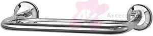 Полотенцедержатель FBS Standard STA 034 двойной длина 30 см цвет хром