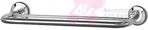 Полотенцедержатель FBS Standard STA 035 двойной длина 40 см цвет хром