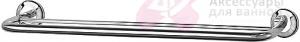 Полотенцедержатель FBS Standard STA 037 двойной длина 60 см цвет хром