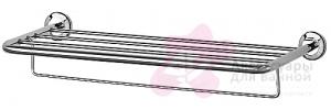 Полотенцедержатель FBS Standard STA 043 полка с нижним держателем длина 70 см цвет хром