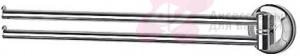 Полотенцедержатель FBS Standard STA 044 двойной поворотный длина 37,1 см цвет хром