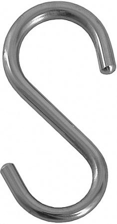 Крючок FBS Universal UNI 004 навесной малый (4 штуки хром