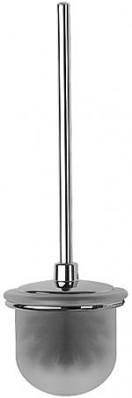 Ершик FBS Universal UNI 061 для туалета настенный хром /матовый хрусталь