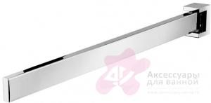Полотенцедержатель Geesa Modern Art 3519-02 одинарный длиной 40,3 см хром