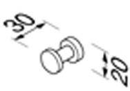 Крючок Geesa Nemox 6513-02 одинарный хром