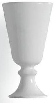Стакан Globo Relais RE040BL настольный керамика белая