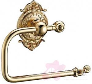 Бумагодержатель Hayta Gabriel 13903-1/GOLD открытый золото