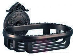 Мыльница-решетка Hayta Gabriel 13904/VBR подвесная Antic Brass (состаренная латунь