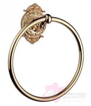 Полотенцедержатель Hayta Gabriel 13906/GOLD кольцо золото