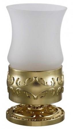 Стакан Hayta Gabriel 13916-1/GOLD настольный золото/стекло