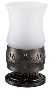 Стакан Hayta Gabriel 13916-1/VBR настольный Antic Brass (состаренная латунь/стекло