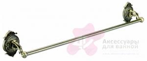 Полотенцедержатель Hayta Gabriel 13960/BRONZE одинарный длина 60 см бронза