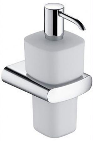 Дозатор для мыла Keuco Elegance New 11654.019000 подвесной хром / стекло матовое