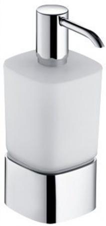 Дозатор для мыла Keuco Elegance New 11654.019001 настольный хром / стекло матовое