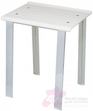 Стульчик Koh-i-Noor Leo 5370 V для душевой кабины душа цвет сиденья белый