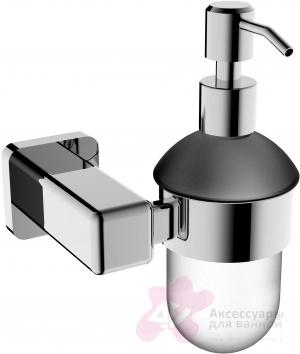Дозатор для мыла Linisi Opera 81885F подвесной хром / стекло