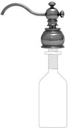 Дозатор для мыла Migliore Complementi ML.COM-50.110.CR встраиваемый хром
