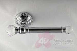 Бумагодержатель Migliore Cristalia ML.CRS-60.205.DO открытый золото/Swarovski
