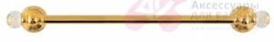 Полотенцедержатель Migliore Cristalia ML.CRS-60.222.DO одинарный 60 см золото/Swarovski