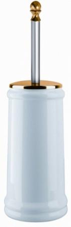 Ершик Migliore Mirella 17236 напольный хром/керамика белая