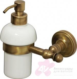 Дозатор для мыла Migliore Mirella ML.MRL-M068.CR настенный хром