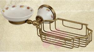Мыльница с корзинкой Migliore Provance ML.PRO-60.526.CR настенная хром / керамика