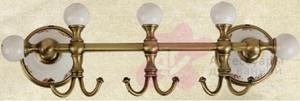 Крючки Migliore Provance ML.PRO-60.539.CR (3 шт на планке хром / керамика