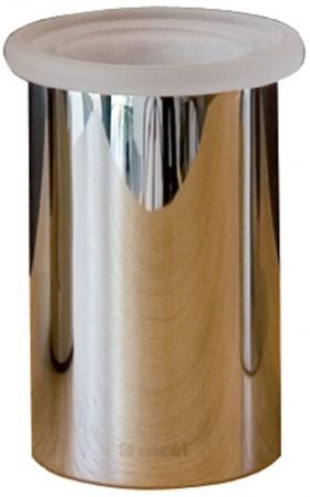 Стакан Nicol Stella 2162000 настольный хром / стекло матовое