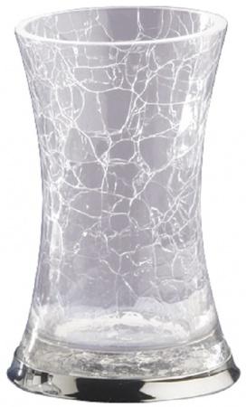 Стакан Nicol Split   2382000 настольный стекло кракелюр / хром