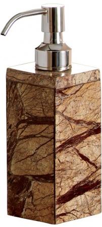 Дозатор Nicol Tura 2481912 настольный для жидкого мрамор Bidasar цвет бежевый /хром