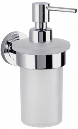 Дозатор Nicol Saturn 7081900 подвесной для жидкого мыла хром / стекло матовое