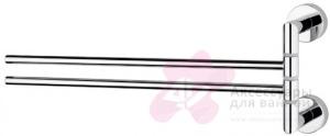 Полотенцедержатель Niсolazzi Minimale 1482M CR двойной хром