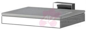 Мыльница Performa Per12M-03 22800 CR настенная хром/керамика белая