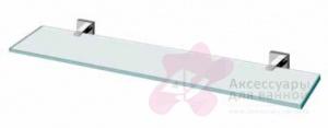 Полка Performa Per12M-13 22830 CR длина 60 см хром/стекло прозрачное