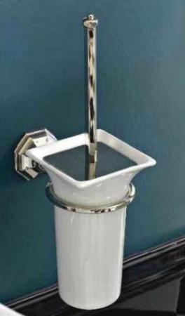 Ершик Sbordoni Deco DE111CR для туалета настенный хром/керамика