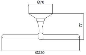 Полотенцедержатель Sbordoni Flora FL106OL кольцо диаметр 23 см латунь