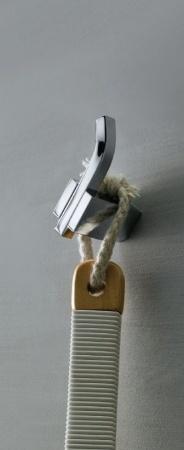 Крючок Schein Watteau 121 одинарный хром