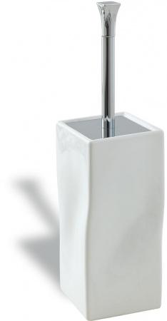 Ерш StilHaus Prisma PR796(08-BI) CR для туалета напольный хром / керамика белая